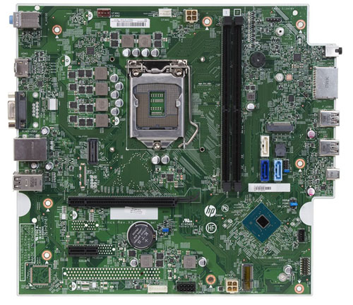 Lincs motherboard top view