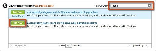 windows 7 sound problems how to fix