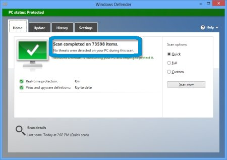 Hp Pcs Using Windows Defender To Prevent Virus And Spyware