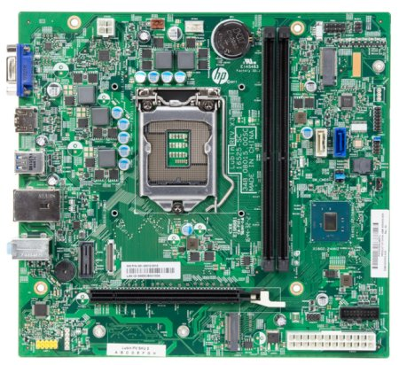 Lubin motherboard top view