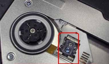 Unidad Blu-ray con dos lentes láser