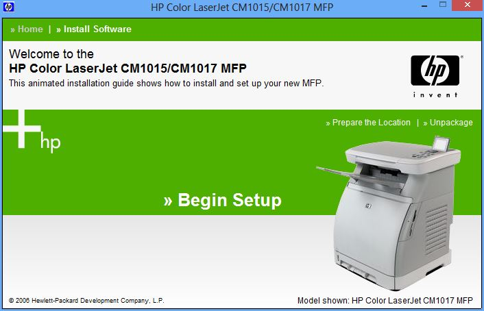 DRIVER UPDATE: COLOR LASERJET CM1017 MFP