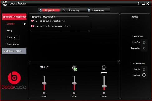 HP Desktop PCs - Using Beats Audio Software | HP® Customer