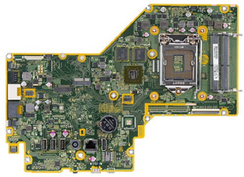 Palau-2GF motherboard top view