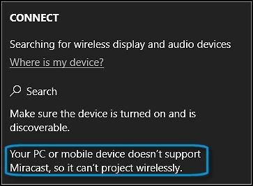 HP PCs - Sharing Your Screen Using Miracast (Windows 10