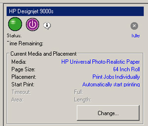 Hp designjet 9000s and 10000s series printers system error 1160.