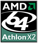 Image of Athlon 64 X2 logo