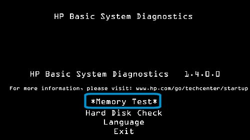 Driver for HP ENVY 23-d000ep TouchSmart Hardware Diagnostics UEFI