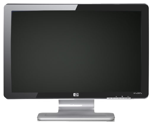 HP Pavilion w2007v LCD wide-screen flat panel monitor