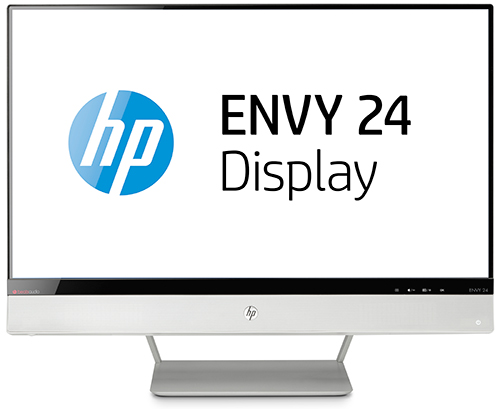 Monitor IPS con retroiluminación LED HP ENVY 24 con Beats Audio