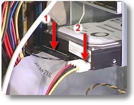 hp and compaq desktop pcs jumper settings for the installation of Boss DVD Player Wire Diagram ide ribbon cable and connection