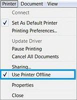 HP LaserJet Pro - Printer Status 'Offline' When Printing