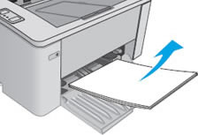 Remove  loose paper from the input tray