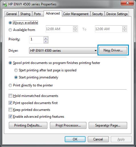 Image result for clic derecho en impresora hp 2540