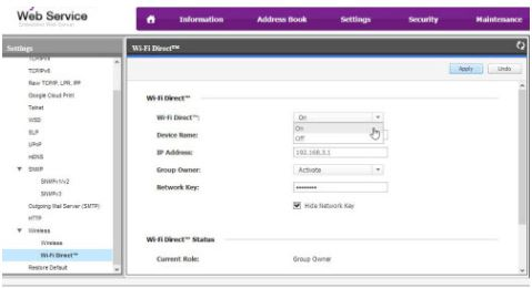 Samsung Laser Printers - How to Setup Wi-Fi Direct | HP® Customer