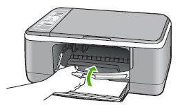 Illustration of closing the cartridge door
