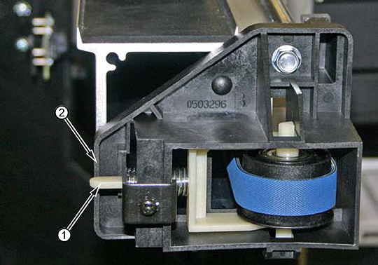 Image: Non-adjustable idler design