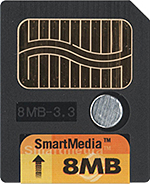 Image of SmartMedia card