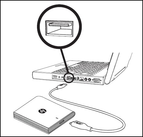 how to open up external hard drive