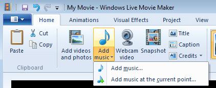 Hp Desktop Pcs Using Windows Live Movie Maker Windows 7 Hp