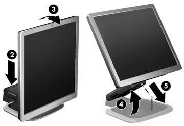 HP Compaq LA1751 LCD Monitor 64x