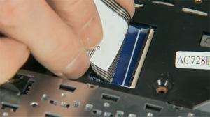 retrait et remplacement du clavier des ordinateurs portables hp pavilion dv6 7000 dv6 7100 et. Black Bedroom Furniture Sets. Home Design Ideas