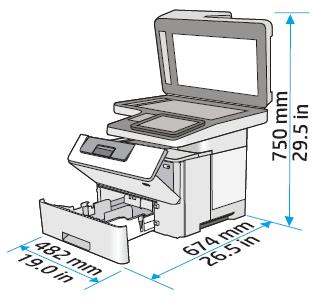 HP LaserJet Managed MFP E52545 - Setting up the printer