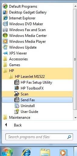 HP LaserJet M1522 Multifunction Printer - Installation Results for