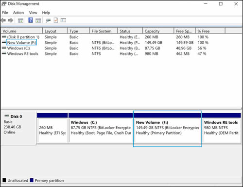 HP PCs - Partitioning and Naming Drives (Windows 10, 8) | HP