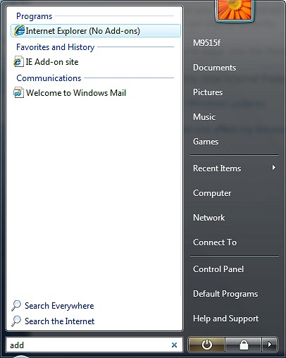how to connect internet in windows 7 with broadband