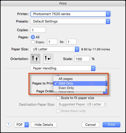 print pdf document on both sides