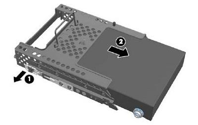 硬盘的拆卸及安装方