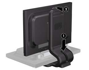 HP Compaq LA2205 LCD Monitor Last