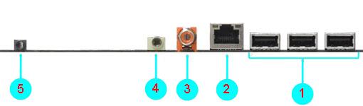 HP TouchSmart Desktop PCs - Motherboard Specifications