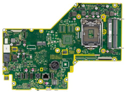 Saipan-UF motherboard top view