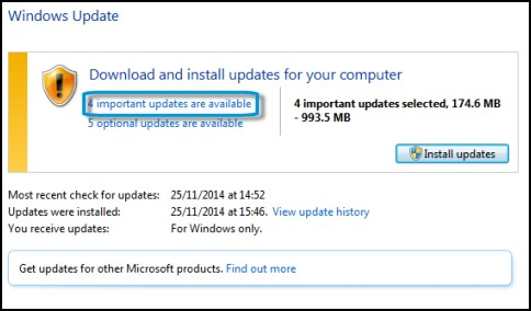 Descargue e instale actualizaciones para su equipo en Windows Update