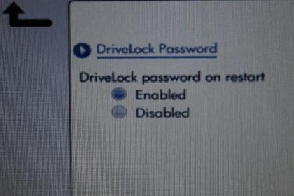 Drivelock password