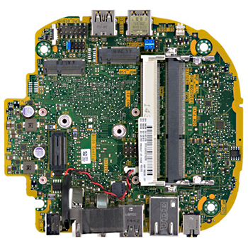 Colti motherboard top view