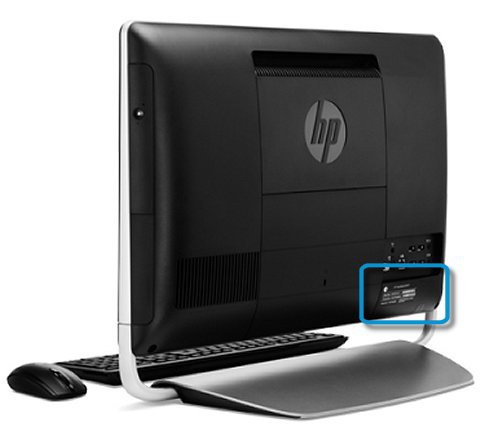 HP PCs, Printers - Finding the Serial Number | HP® Customer Support