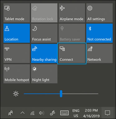 HP PCs - Sharing Your Screen Using Miracast (Windows 10) | HP® Customer  Support
