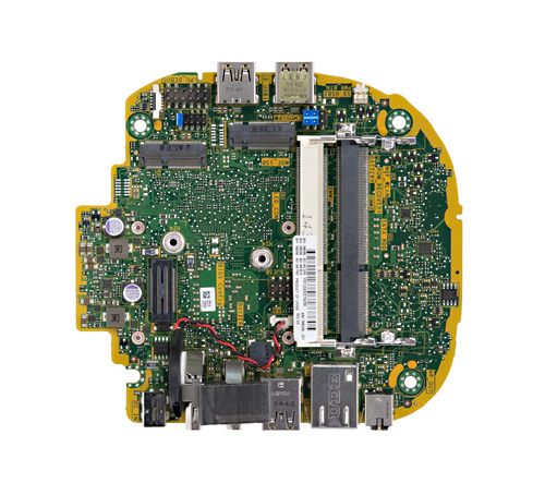 Top view of ColtC motherboard