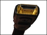 Image of the plug on an HDMI cable