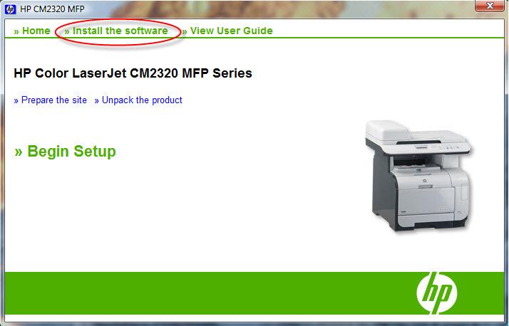hp color laserjet cm1312nfi mfp software