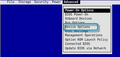 HP Z230 Workstation - Enable Internal Speaker in the BIOS   HP