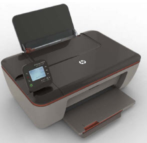 Photo of an HP Deskjet 3510 eAll-in-One printer
