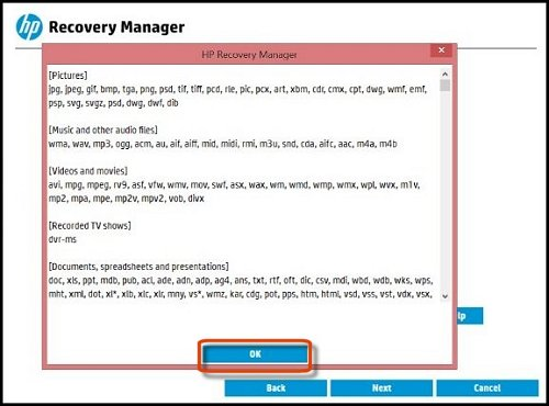 HP Backup and Recovery Manager Treiber Windows 7