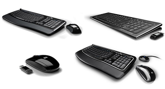 Wireless mouse and keyboard products.