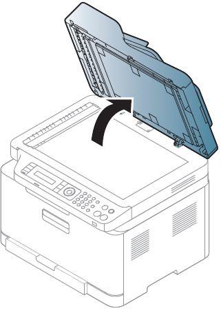 Samsung Xpress Farblaser-Multifunktionsgerät SL-C480 - Einlegen von ...