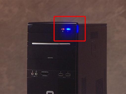 惠普电脑机箱结构