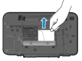 Image: Remove any jammed paper from inside the printer.